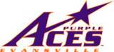 Evansville Purple Aces logo